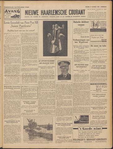 Nieuwe Haarlemsche Courant 1939-10-27
