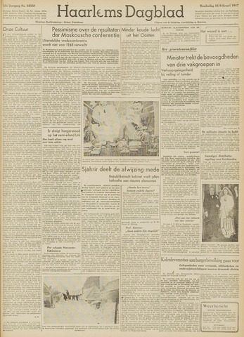 Haarlem's Dagblad 1947-02-13