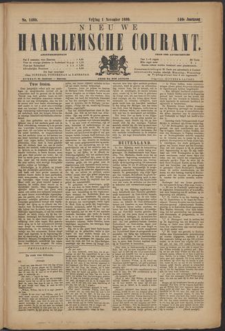Nieuwe Haarlemsche Courant 1889-11-01
