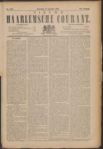 Nieuwe Haarlemsche Courant 1886-09-30