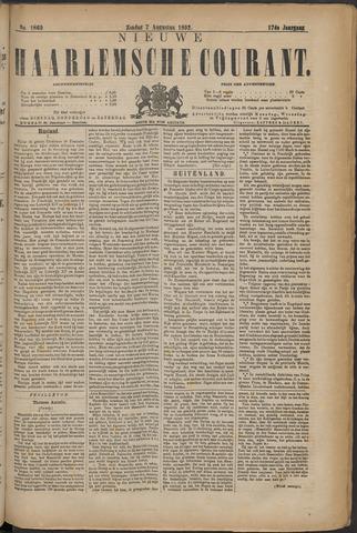 Nieuwe Haarlemsche Courant 1892-08-07