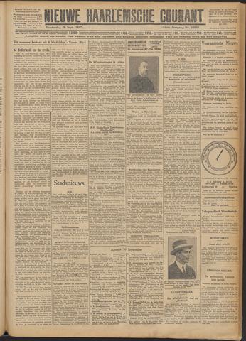 Nieuwe Haarlemsche Courant 1927-09-29