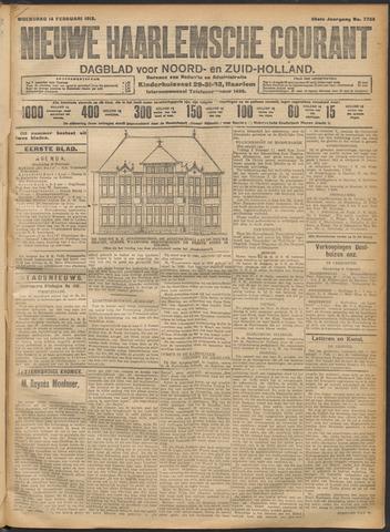 Nieuwe Haarlemsche Courant 1912-02-14