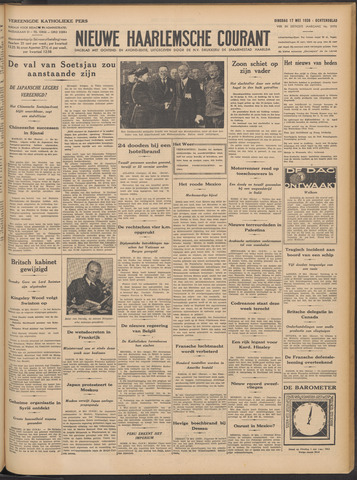 Nieuwe Haarlemsche Courant 1938-05-17