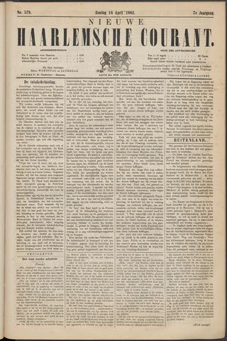 Nieuwe Haarlemsche Courant 1882-04-16