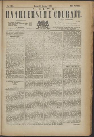 Nieuwe Haarlemsche Courant 1890-12-28