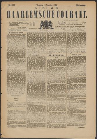 Nieuwe Haarlemsche Courant 1894-11-14