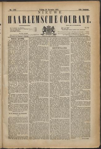 Nieuwe Haarlemsche Courant 1891-11-20