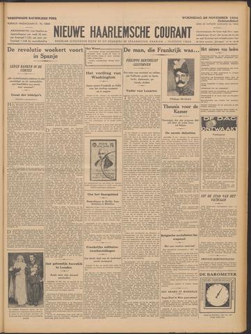Nieuwe Haarlemsche Courant 1934-11-28