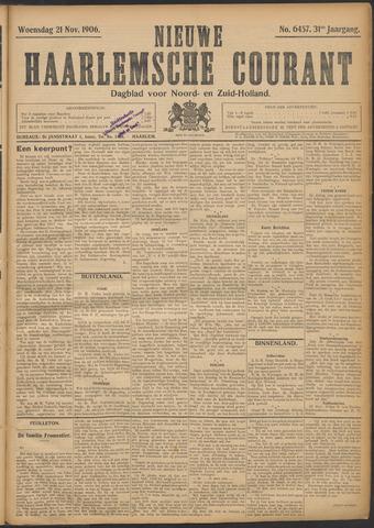Nieuwe Haarlemsche Courant 1906-11-21
