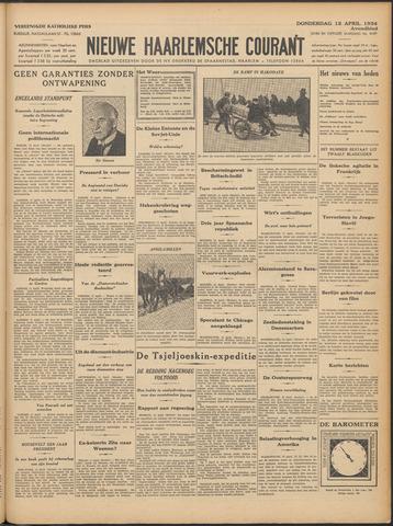 Nieuwe Haarlemsche Courant 1934-04-12