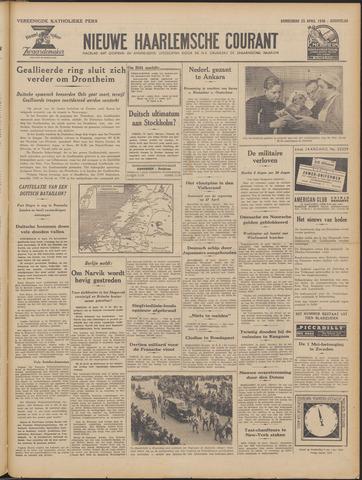 Nieuwe Haarlemsche Courant 1940-04-25