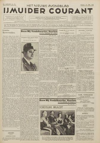 IJmuider Courant 1938-04-29
