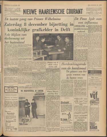 Nieuwe Haarlemsche Courant 1962-11-29
