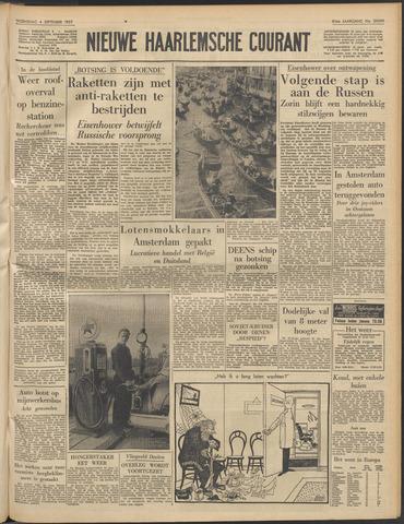 Nieuwe Haarlemsche Courant 1957-09-04