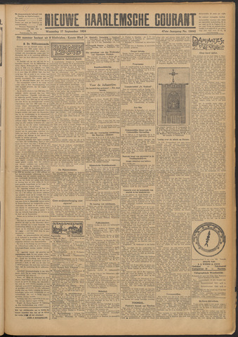 Nieuwe Haarlemsche Courant 1924-09-17