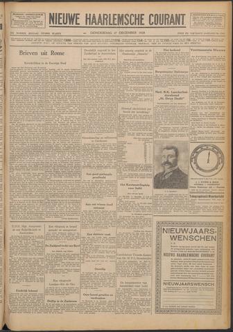 Nieuwe Haarlemsche Courant 1928-12-27