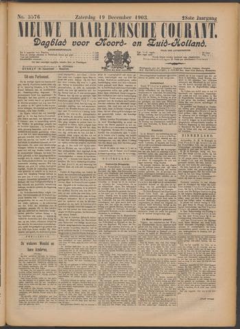 Nieuwe Haarlemsche Courant 1903-12-19
