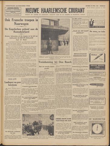 Nieuwe Haarlemsche Courant 1940-04-20