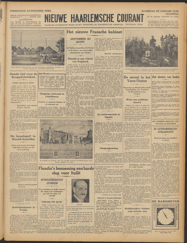 Nieuwe Haarlemsche Courant 1936-01-25