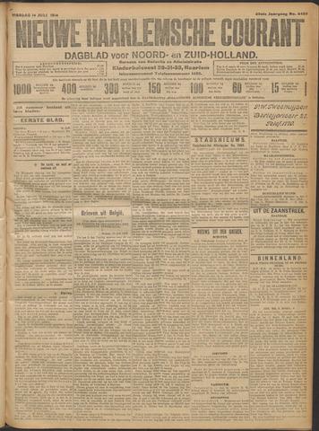 Nieuwe Haarlemsche Courant 1914-07-14