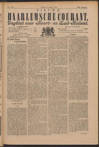 Nieuwe Haarlemsche Courant 1899-10-20