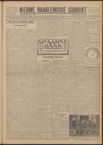 Nieuwe Haarlemsche Courant 1927-02-12