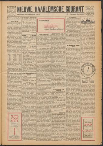 Nieuwe Haarlemsche Courant 1922-09-30
