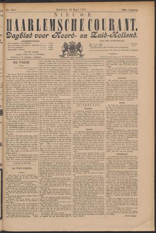 Nieuwe Haarlemsche Courant 1898-03-24