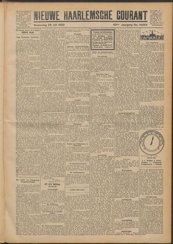 Nieuwe Haarlemsche Courant 1922-07-26