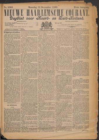 Nieuwe Haarlemsche Courant 1899-12-18