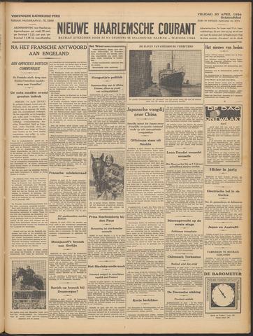 Nieuwe Haarlemsche Courant 1934-04-20