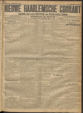 Nieuwe Haarlemsche Courant 1916-09-04