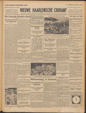 Nieuwe Haarlemsche Courant 1933-04-26