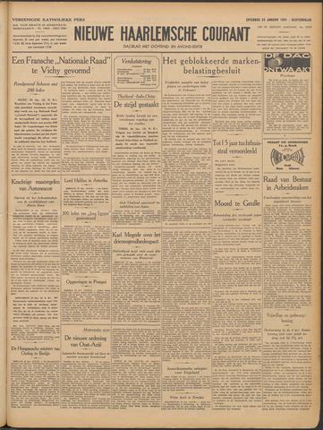 Nieuwe Haarlemsche Courant 1941-01-25