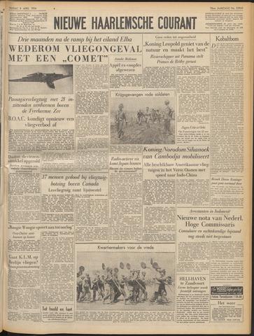 Nieuwe Haarlemsche Courant 1954-04-09