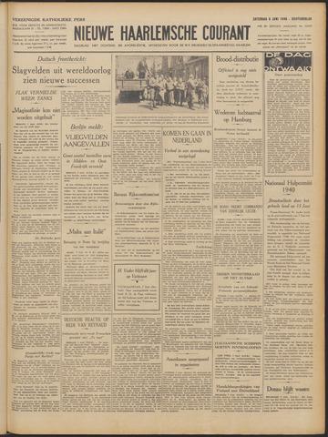 Nieuwe Haarlemsche Courant 1940-06-08