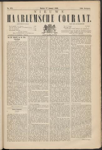 Nieuwe Haarlemsche Courant 1886-01-17