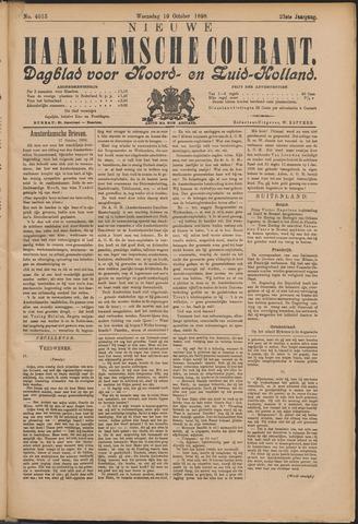 Nieuwe Haarlemsche Courant 1898-10-19