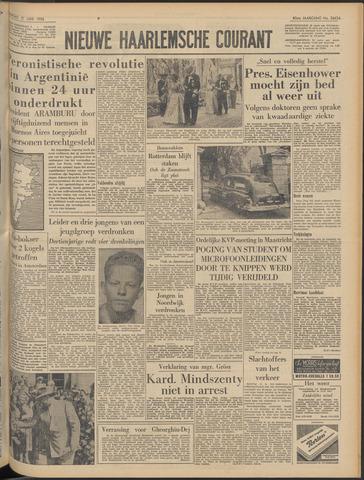 Nieuwe Haarlemsche Courant 1956-06-11