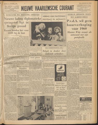 Nieuwe Haarlemsche Courant 1958-11-21