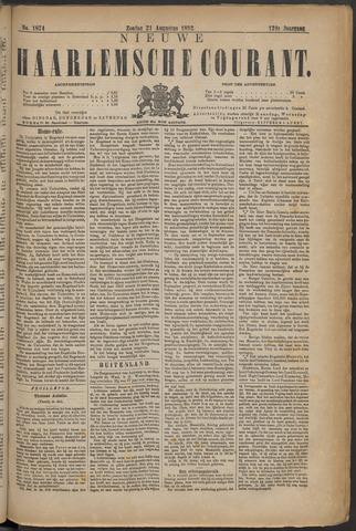 Nieuwe Haarlemsche Courant 1892-08-21