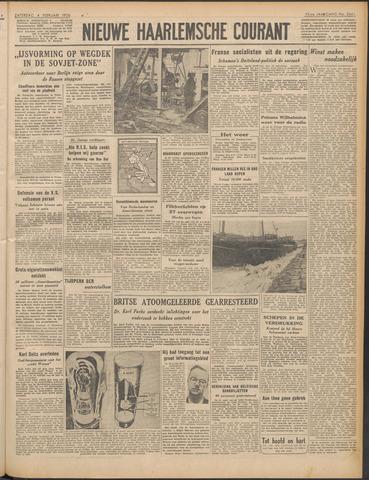 Nieuwe Haarlemsche Courant 1950-02-04
