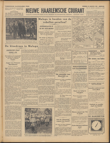 Nieuwe Haarlemsche Courant 1936-08-26