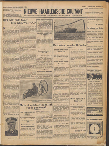 Nieuwe Haarlemsche Courant 1937