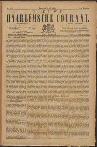 Nieuwe Haarlemsche Courant 1886-07-01