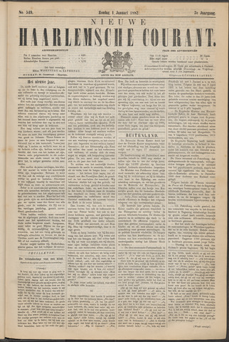 Nieuwe Haarlemsche Courant 1882-01-01