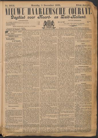 Nieuwe Haarlemsche Courant 1898-12-05