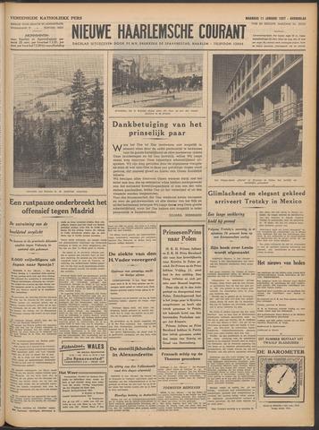 Nieuwe Haarlemsche Courant 1937-01-11