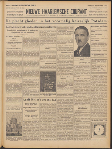 Nieuwe Haarlemsche Courant 1933-03-21